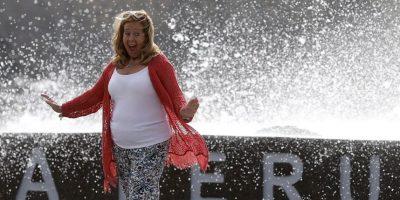 Viña del Mar: turistas y vecinos llegan al borde costero para apreciar las marejadas
