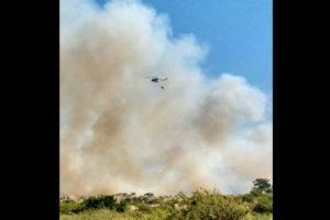 Foto:Reproducción / Twitter @chilewildfires. Imagen Por: