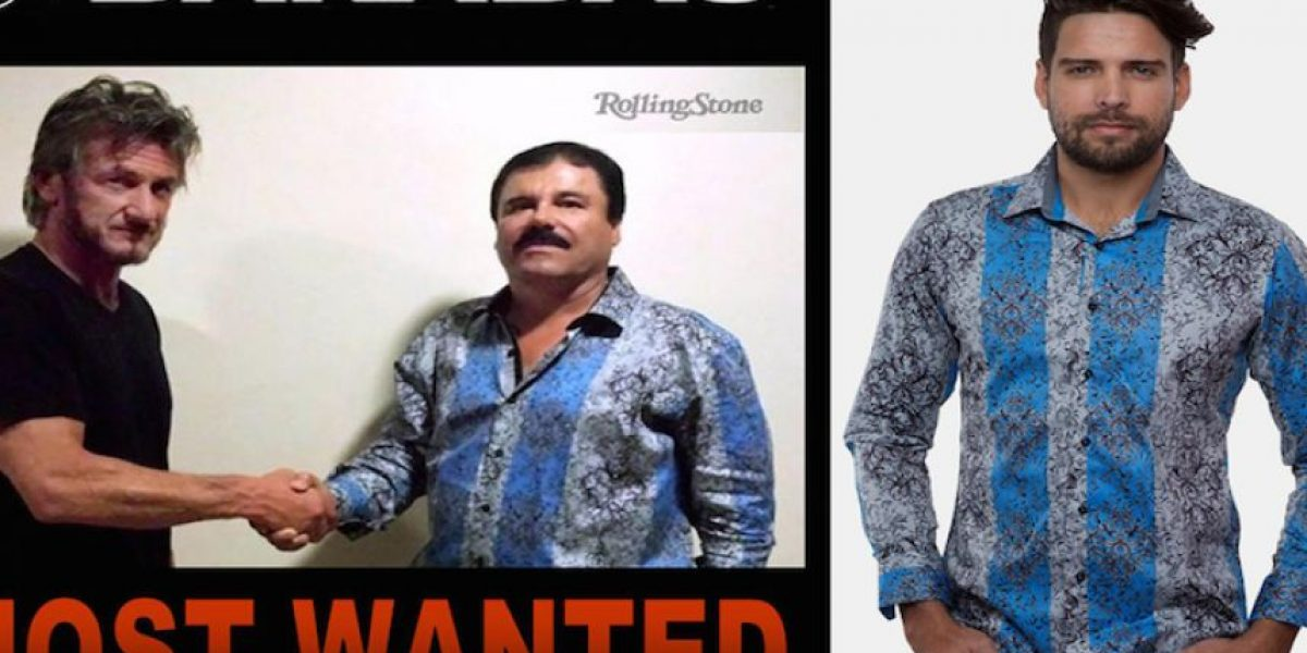 No es broma: furor por las camisas del Chapo en EEUU y México