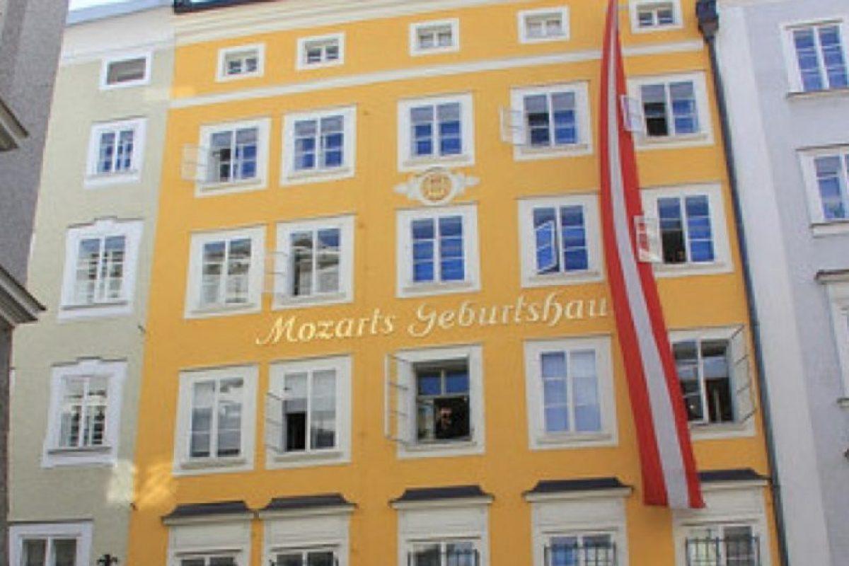 Casa de Mozart. Entre los años 1784 y 1787 el compositor vivió junto con su familia en este lugar. Foto:Vía viena.org.es. Imagen Por: