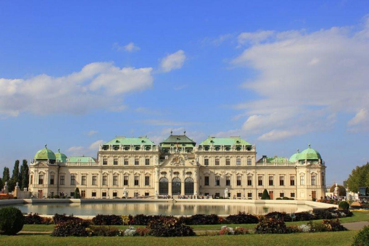 Palacio Belvedere. Hoy en día alberga un museo de arte. Foto:Wikipedia Commons. Imagen Por: