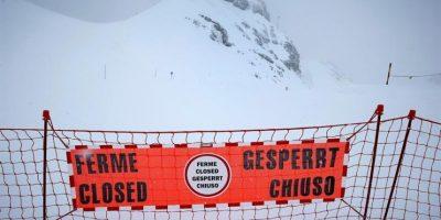 Detenido por homicidio involuntario el profesor del grupo del alud de los Alpes