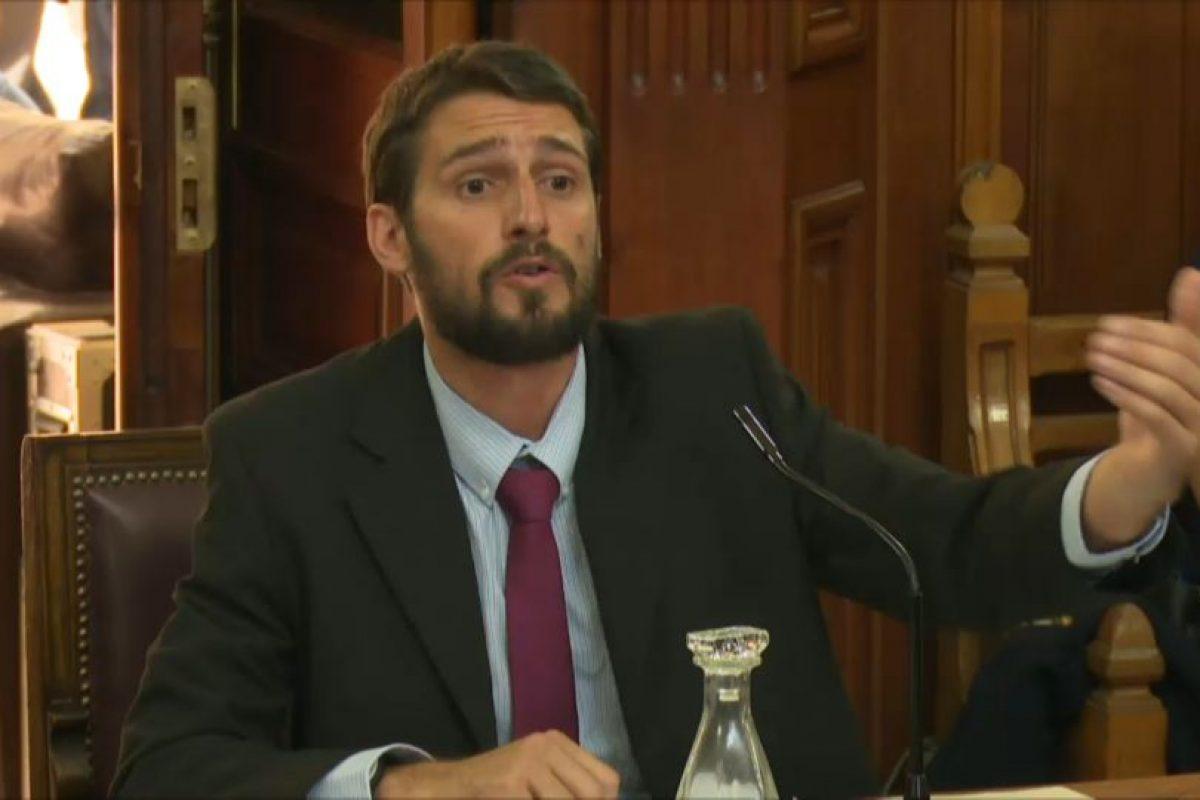 Matías Ramírez, abogado querellante de la causa Foto:Captura Porder Judicial. Imagen Por: