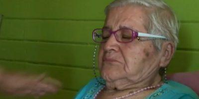 Farkas le deposita un millón de pesos a abuelita a la que le robaron su jubilación