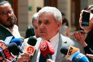 Carlos Gajardo, presidente de la Corte de Apelaciones de Santiago Foto:Agencia Uno. Imagen Por: