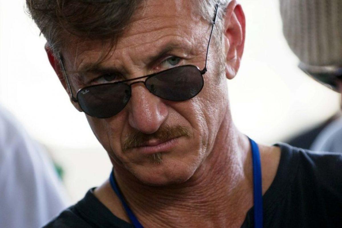 Sean Penn habló para el programa 60 Minutes Foto:AFP. Imagen Por: