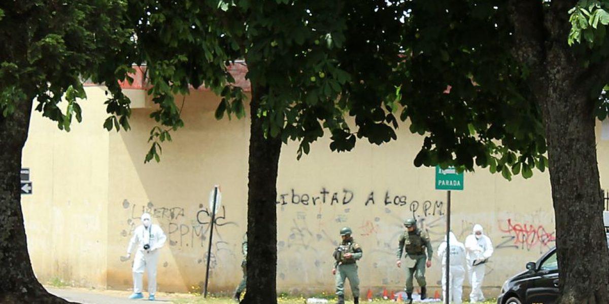 Fiscalía: bomba en cárcel de Temuco tenía 13 cartuchos de dinamita