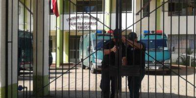 Temuco: Gope detonó artefacto explosivo instalado fuera de la cárcel