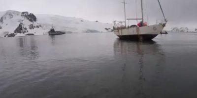 Armada logró rescatar yate polaco varado desde el 2014 en la Antártica