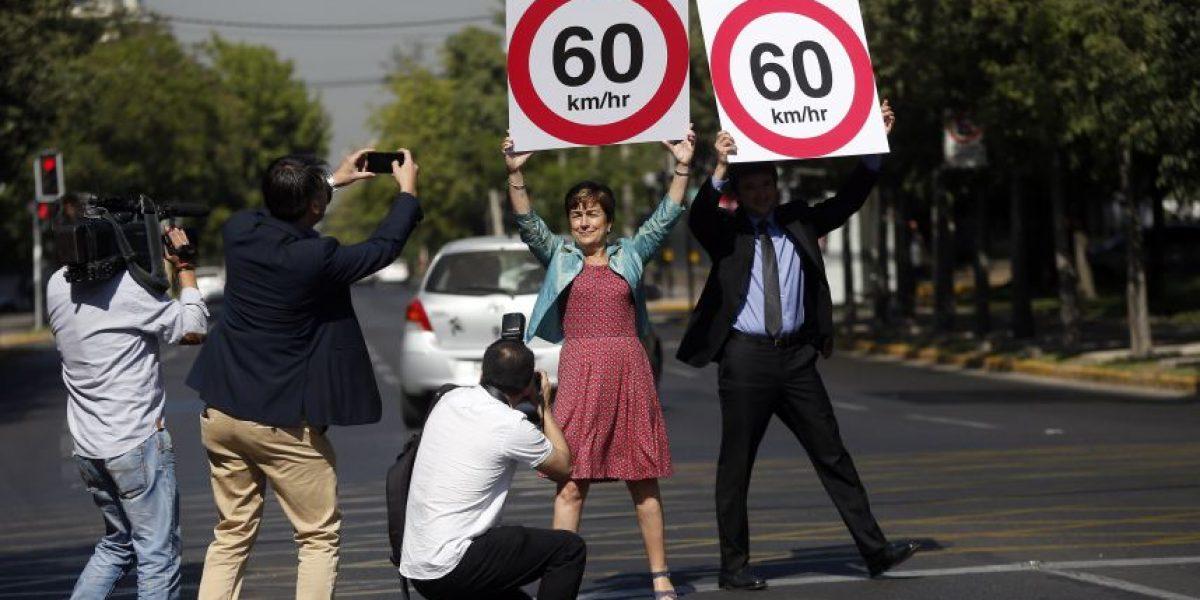 Aprueban reducir la velocidad máxima en tres avenidas cruciales de Providencia