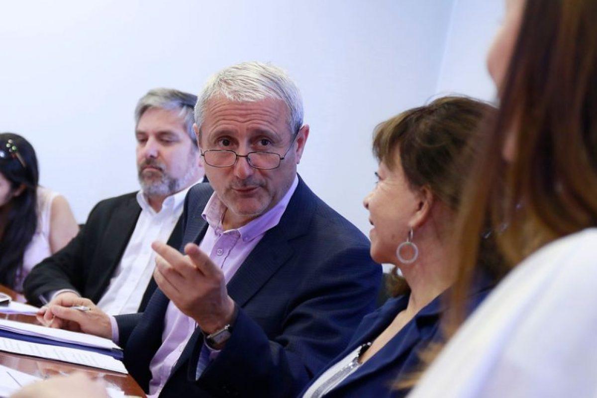 Aldo Valle, vicepresidente del Cruch Foto:Agencia Uno. Imagen Por: