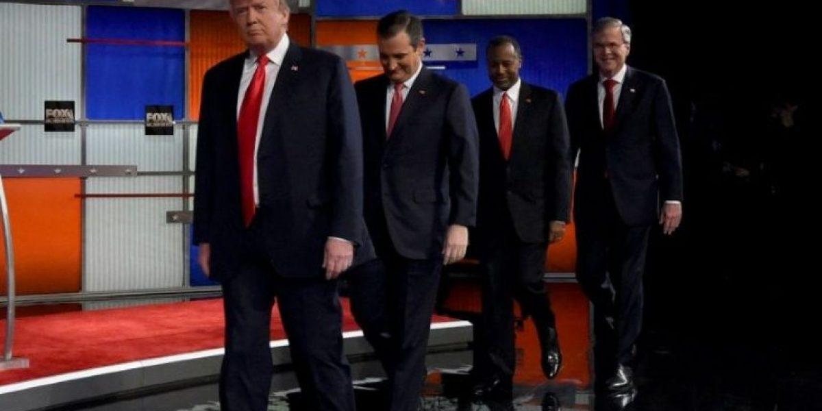 Trump y Cruz chocan en un nuevo debate republicano