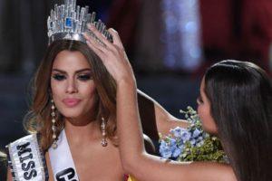 Ariadna Gutiérrez vivió un breve- pero eterno- momento de humillación. Foto:vía Getty Images. Imagen Por:
