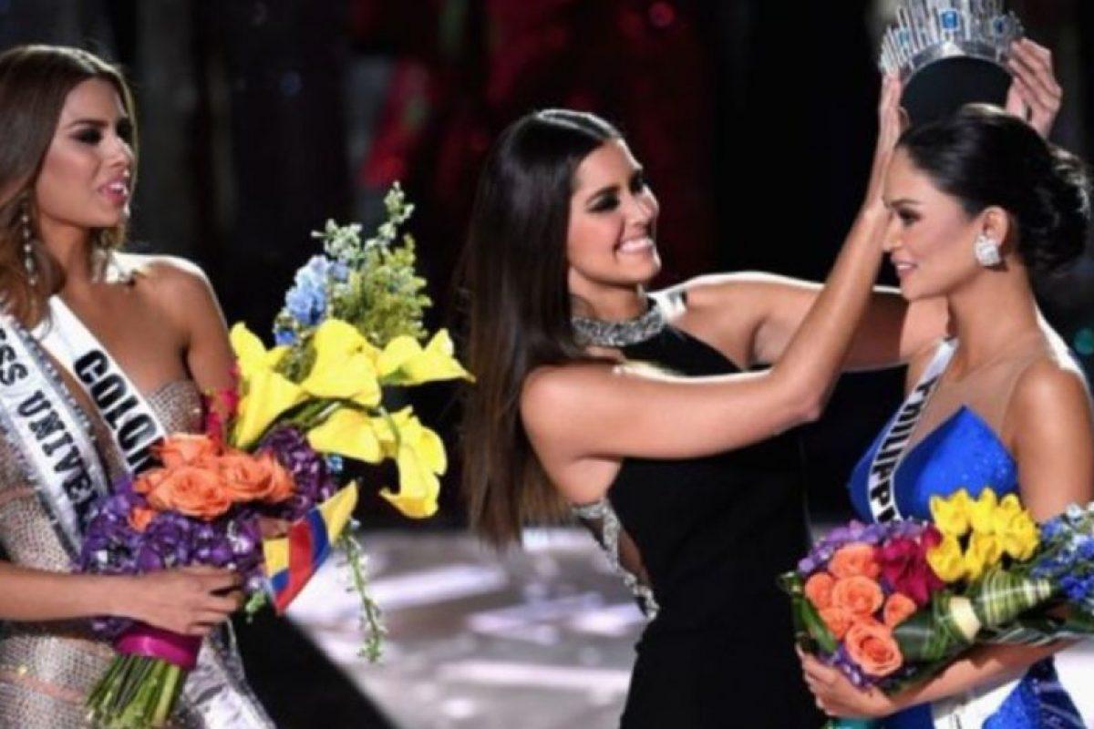Pía Wurtzbasch, de Filipinas, era la ganadora. Foto:vía Getty Images. Imagen Por: