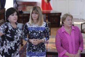 Ana Lya Uriarte (a la izquierda). Foto:Archivo Agencia Uno. Imagen Por: