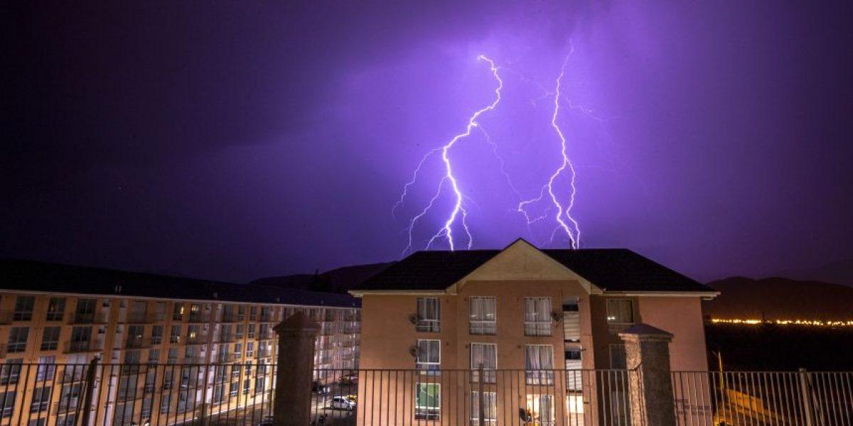 Pronostican chubascos y tormentas eléctricas para el extremo norte de Chile