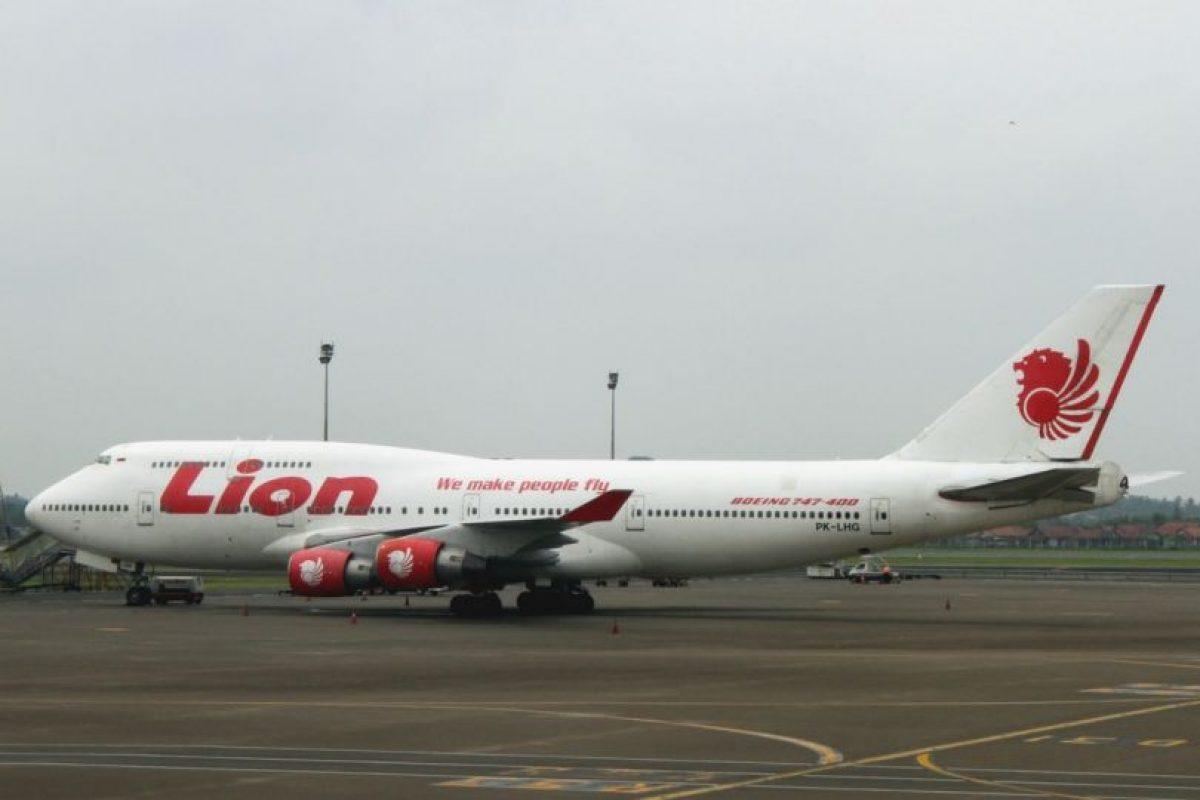 Lion Air Foto:Wikipedia.org. Imagen Por: