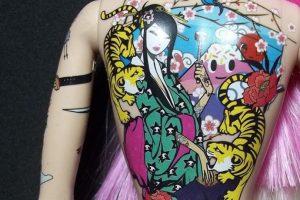 Padres de familia generaron controversia debido a que creían que la muñeca iba a incitar a que sus hijas desearan tener tatuajes. Foto:Vía Instagram. Imagen Por: