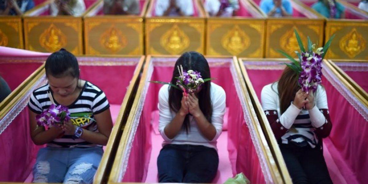 Tailandia: meterse en un ataúd para