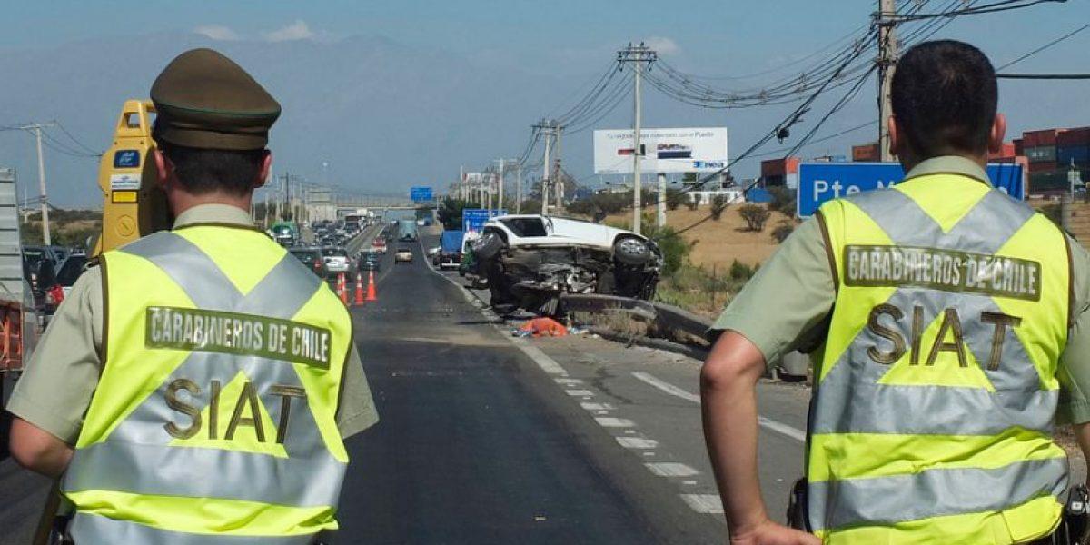Recambio de turistas deja 13 fallecidos en accidentes de tránsito