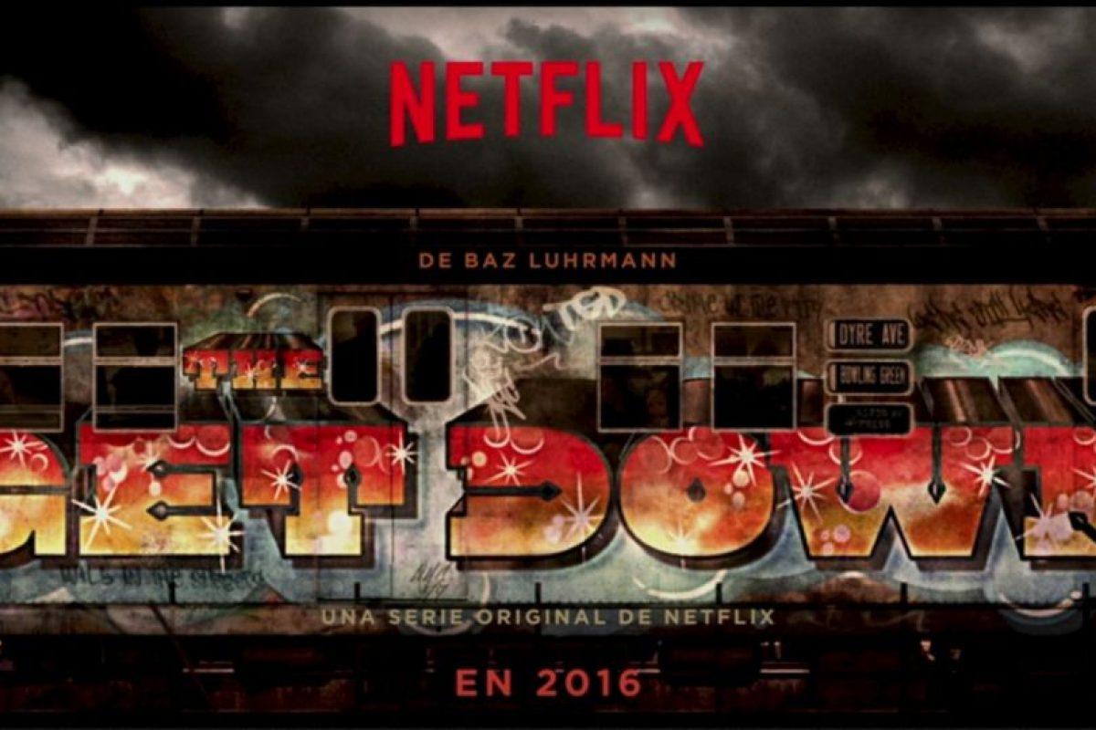 """""""THE GET DOWN"""". Primera temporada disponible a partir del 12 de agosto. Foto:Netflix. Imagen Por:"""