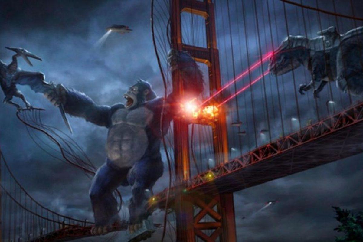 """Ambientada en 2050, es una versión animada y moderna de la clásica historia de """"King Kong"""" con un trato humano que lo convierte en superhéroe. Foto:Netflix. Imagen Por:"""