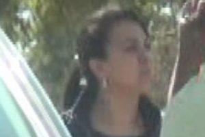 Parte de las imágenes captadas durante el seguimiento a la mujer. Foto:Gentileza. Imagen Por: