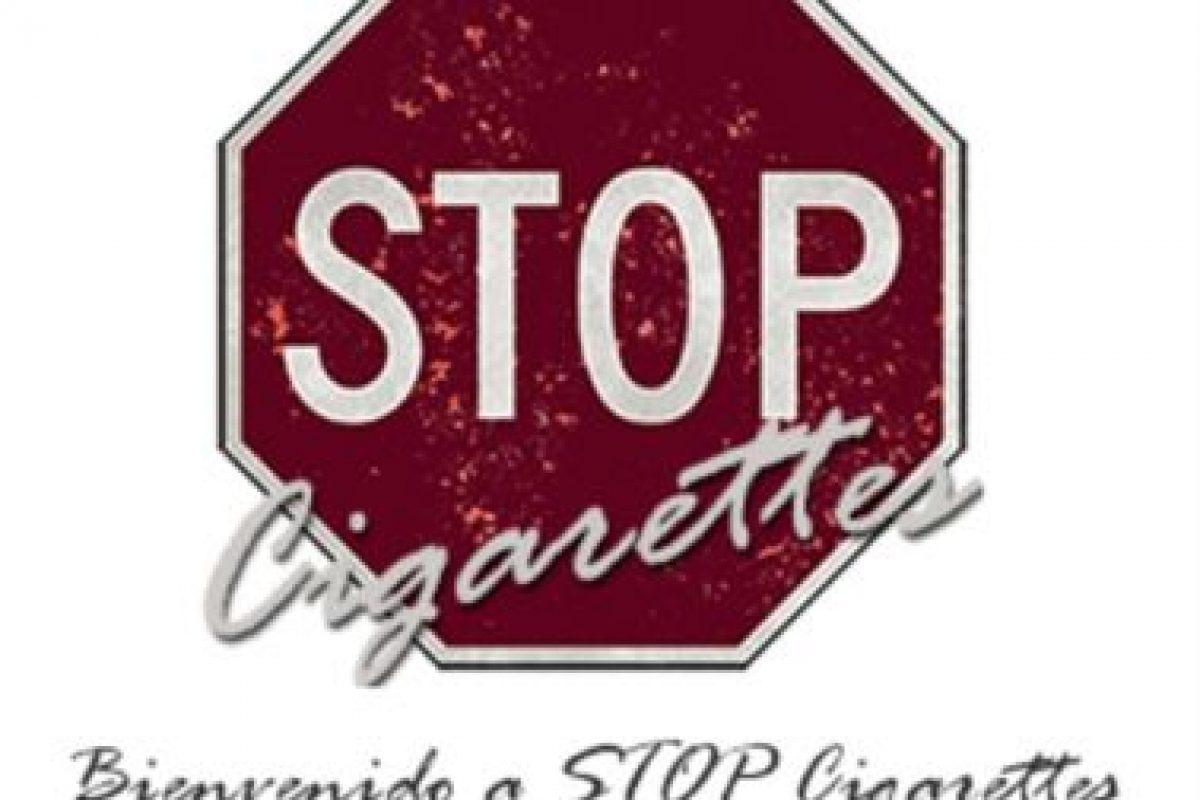 4- STOP Cigarettes. Foto:academiacea. Imagen Por: