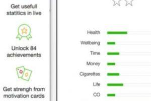 Utiliza técnicas, razonamientos y mecánicas basadas en juegos para animar a las personas a dejar de fumar. Irán alcanzando niveles y puntuaciones hasta convertirse en el Kwitter Supremo. Tiene 60 objetivos que deberán desbloquear y algunos les darán información sobre los beneficios que dejar de fumar tiene para su cuerpo y vida. Foto:Geoffrey Kretz. Imagen Por: