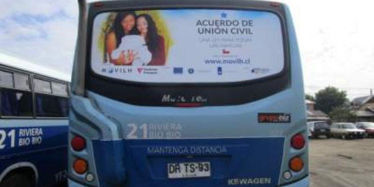 Movilh demanda a empresa de buses de Concepción por homofobia