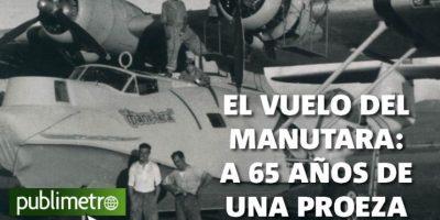 Infografía: el vuelo del Manutara a 65 años de una proeza