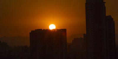 Así está la calidad del aire en Santiago tras incendio en relleno sanitario