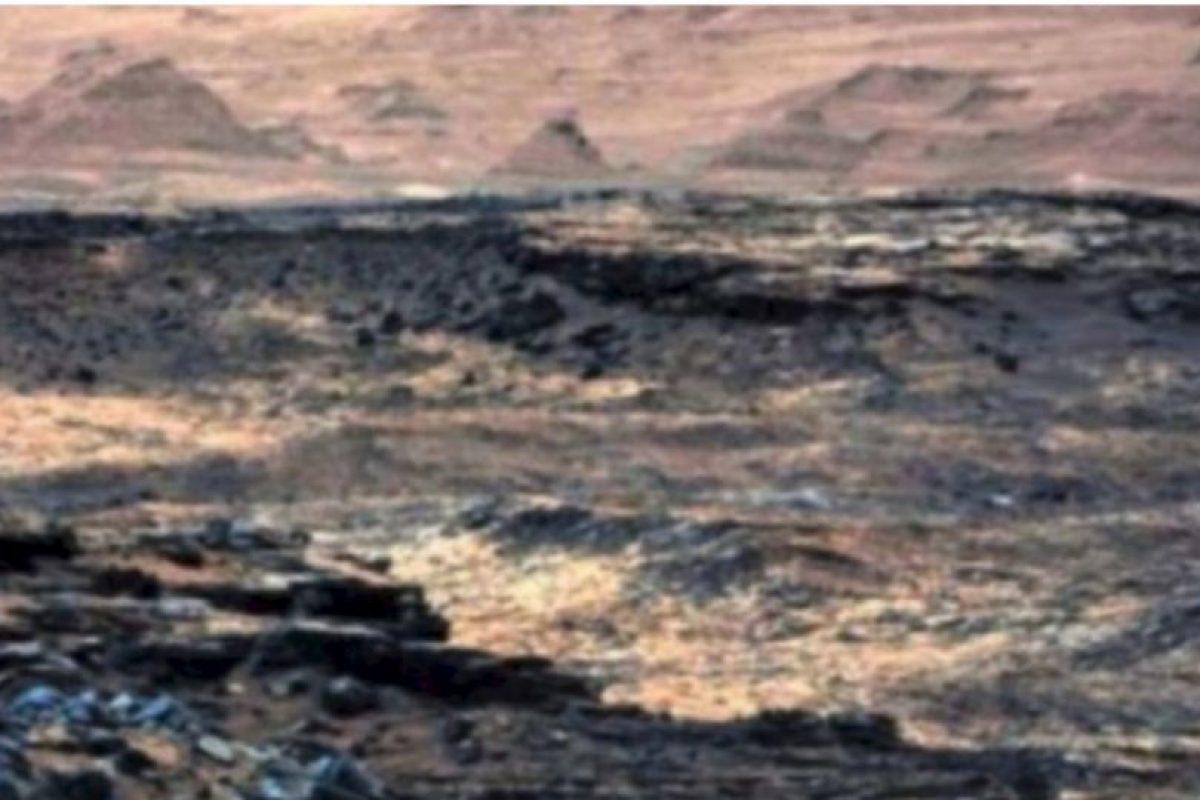 Las ruinas de una ciudad Foto:NASA. Imagen Por: