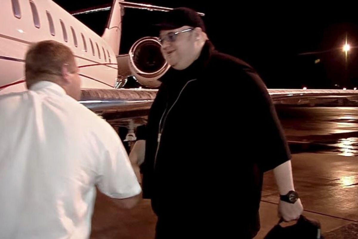 También tenía un jet privado. Foto:MrKimDotcom / YouTube. Imagen Por: