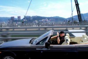 Los paseos en su convertible. Foto:MrKimDotcom / YouTube. Imagen Por: