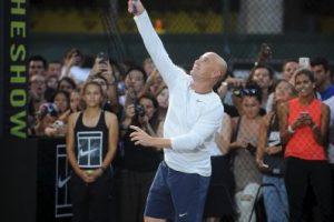 André Agassi, ganador de ocho títulos de Grand Slam Foto:Getty Images. Imagen Por: