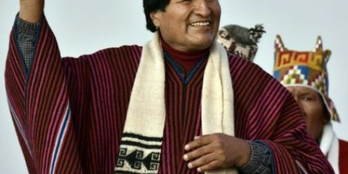 Evo Morales agradece a la Madre Tierra por sus 10 años de su gobierno
