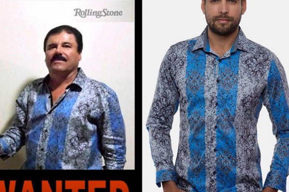 """Las camisas de Barabas que popularizó """"El Chapo"""" se agotaron en poco tiempo. Cuestan 100 dólares. La marca también recauda fondos para la lucha contra las drogas. Foto:vía BARABAS. Imagen Por:"""