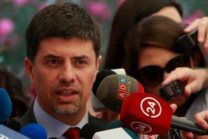 Marcelo Díaz, vocero de Gobierno Foto:Agencia Uno. Imagen Por: