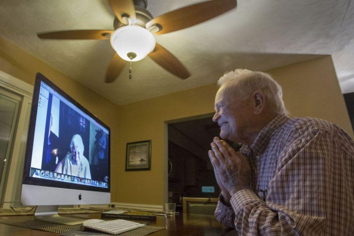 Ya conversaron a través de una videollamada Foto:AP. Imagen Por: