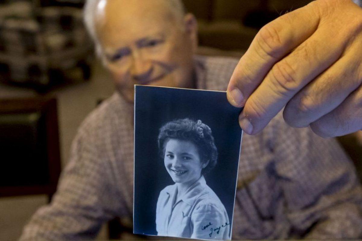 Norwood Thomas incluso conserva una fotografía de quien fuera su novia Foto:AP. Imagen Por: