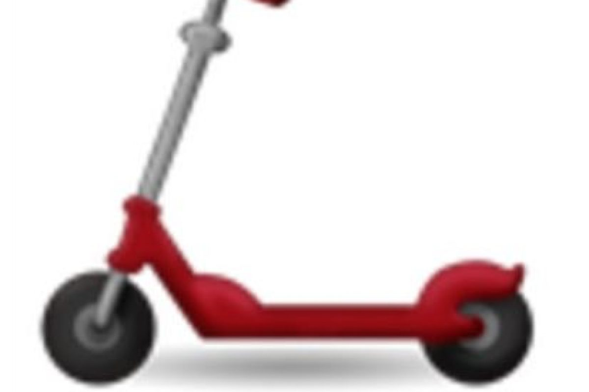 Scooter. Foto:vía emojipedia.org. Imagen Por: