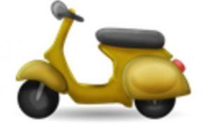 Motocicleta. Foto:vía emojipedia.org. Imagen Por: