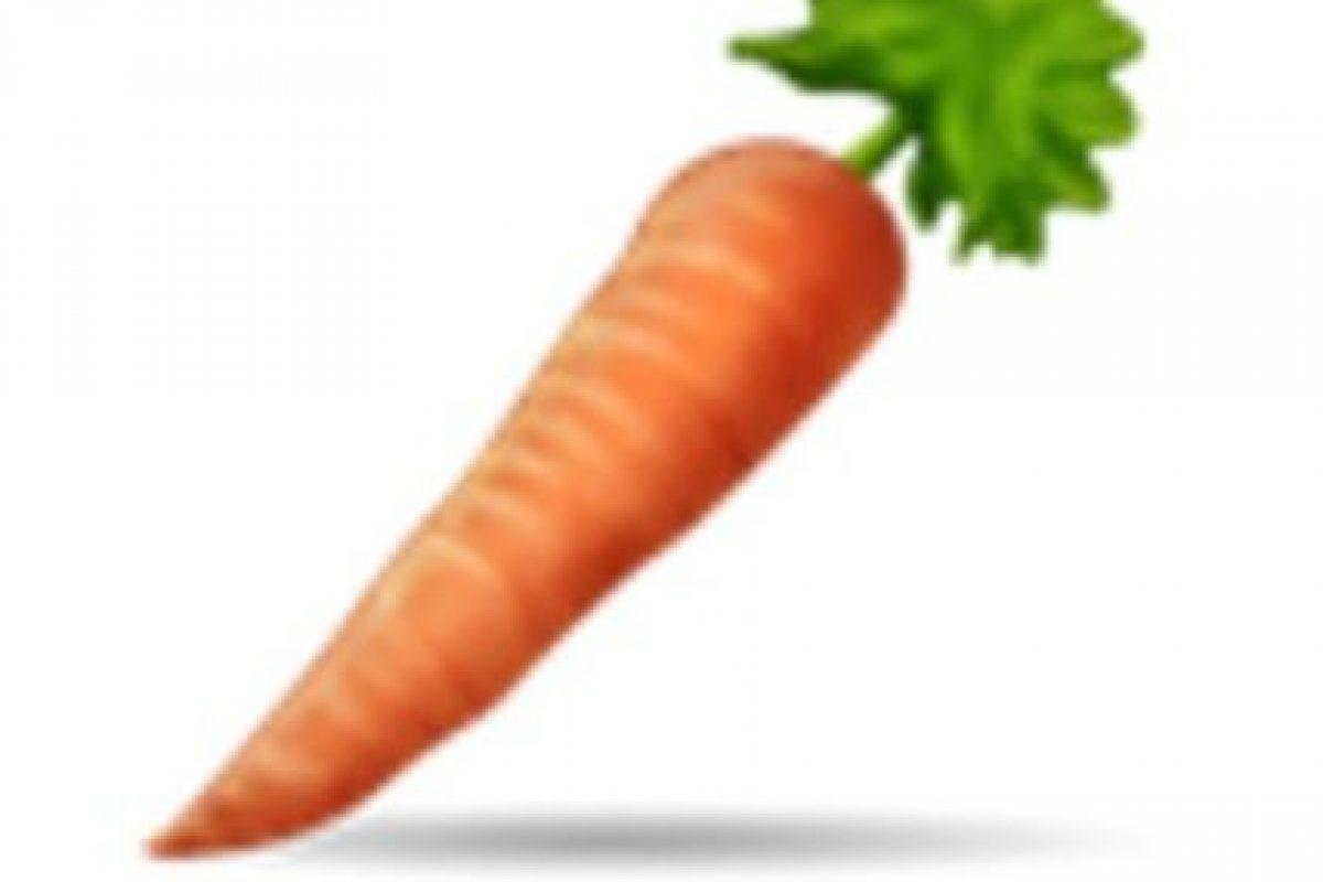 Zanahoria. Foto:vía emojipedia.org. Imagen Por: