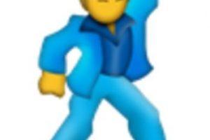 Hombre bailando. Foto:vía emojipedia.org. Imagen Por: