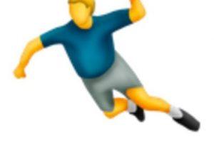 Handball. Foto:vía emojipedia.org. Imagen Por: