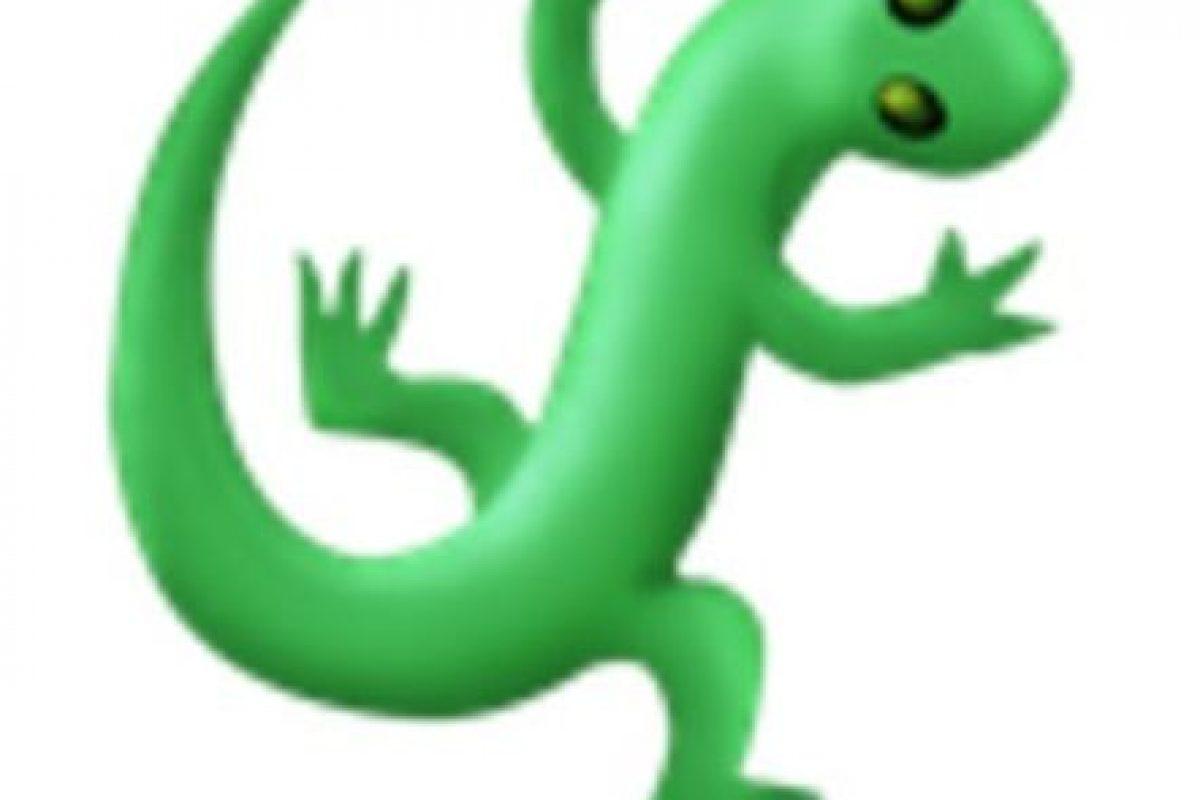 Lagartija. Foto:vía emojipedia.org. Imagen Por: