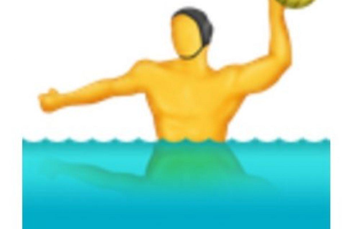 Waterpolo. Foto:vía emojipedia.org. Imagen Por: