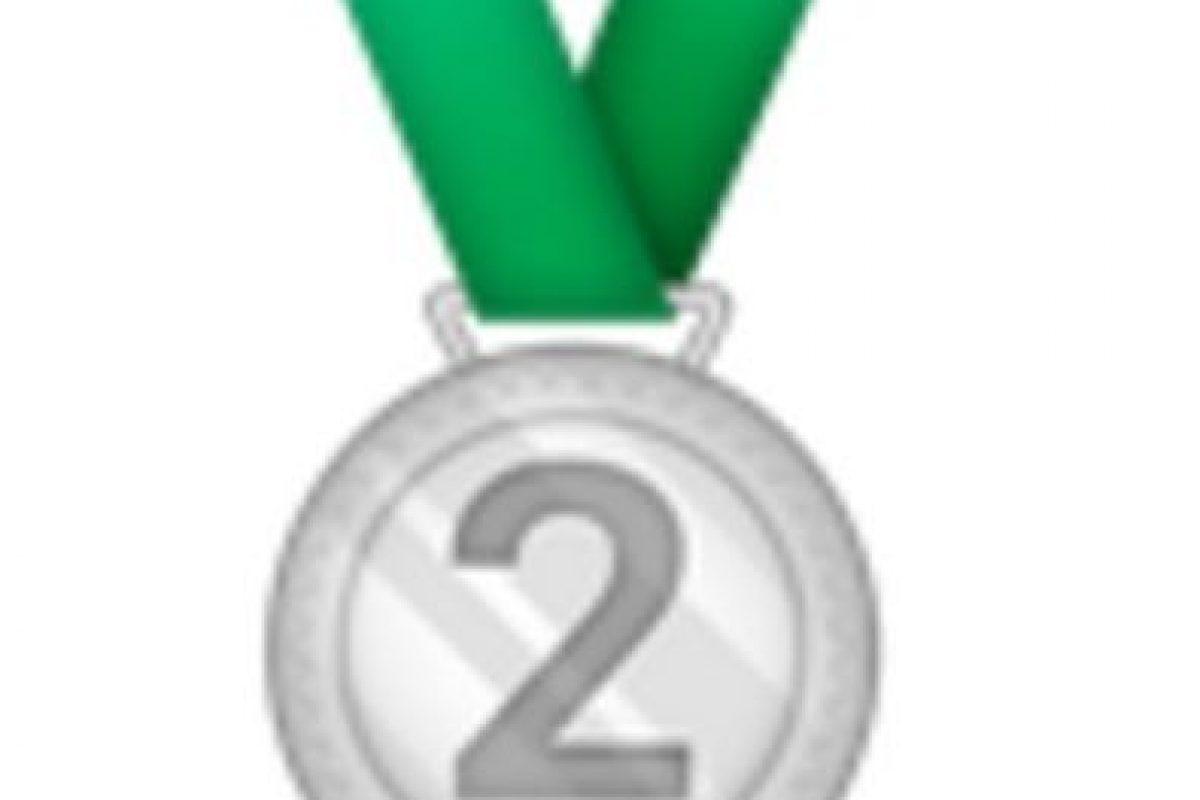 Medalla de plata, segundo lugar.. Imagen Por: