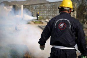 Para eliminar los huevos del mosquito, limpiar los patios mediante la recolección de basuras o residuos sólidos. Foto:AP. Imagen Por: